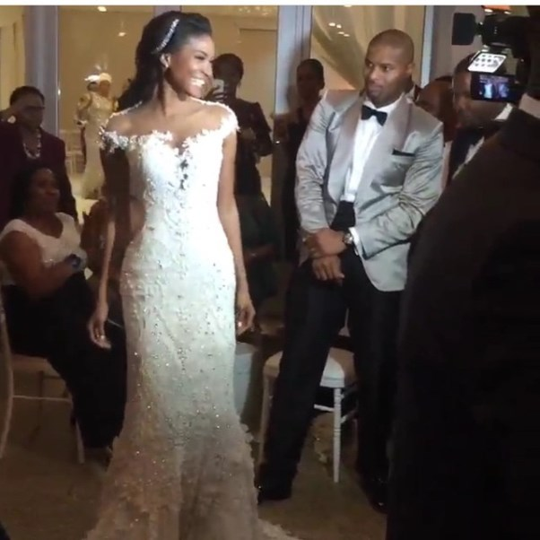 Leila Lopes and Osi Umenyiora LoveweddingsNG5