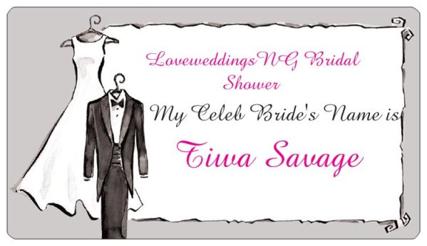 LoveweddingsNG Bridal Shower Game Ideas - Guess the Celebrity Bride