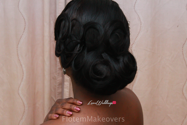 Nigerian Bridal Hair Inspiration Flotem Makeovers LoveweddingsNG14