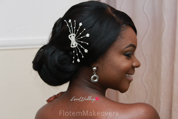 Nigerian Bridal Hair Inspiration Flotem Makeovers LoveweddingsNG15