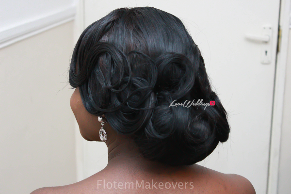 Nigerian Bridal Hair Inspiration Flotem Makeovers LoveweddingsNG18