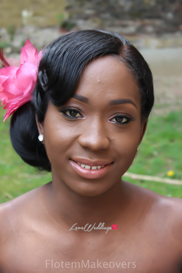 Nigerian Bridal Hair Inspiration Flotem Makeovers LoveweddingsNG24