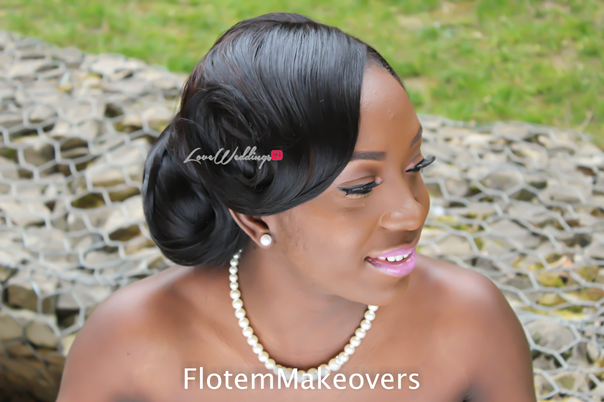 Nigerian Bridal Hair Inspiration Flotem Makeovers LoveweddingsNG33