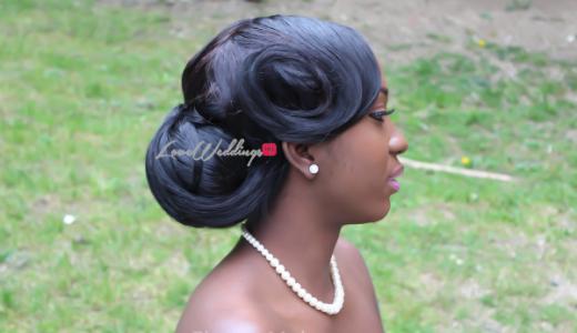 Nigerian Bridal Hair Inspiration Flotem Makeovers LoveweddingsNG34