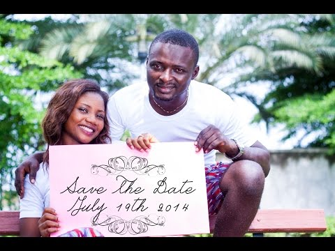 Nigerian Prewedding Save The Date