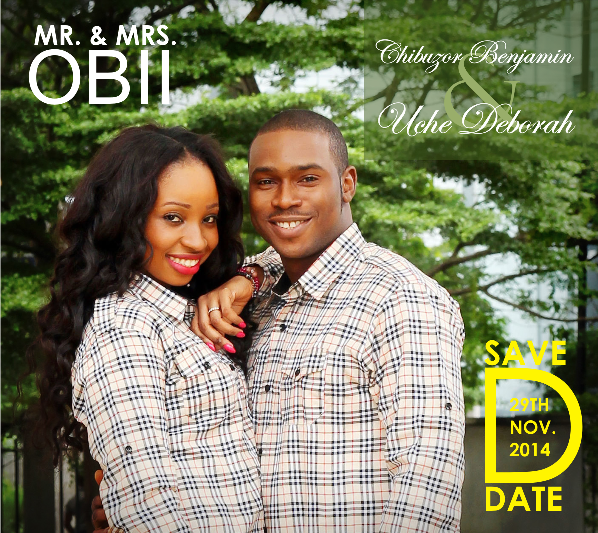 Nigerian Save The Date Inspiration LoveweddingsNG
