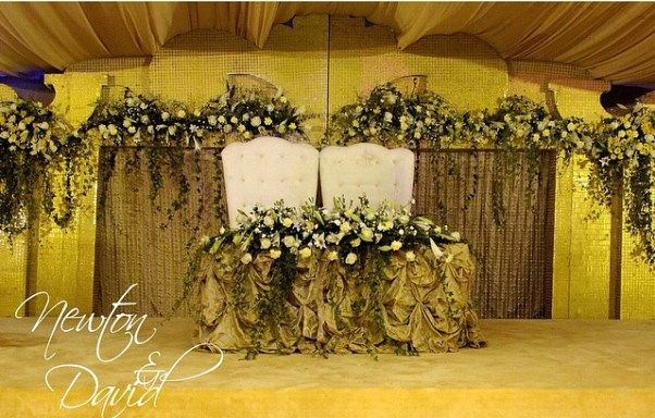 Nigerian Wedding Decor LoveweddingsNG - Newton and David