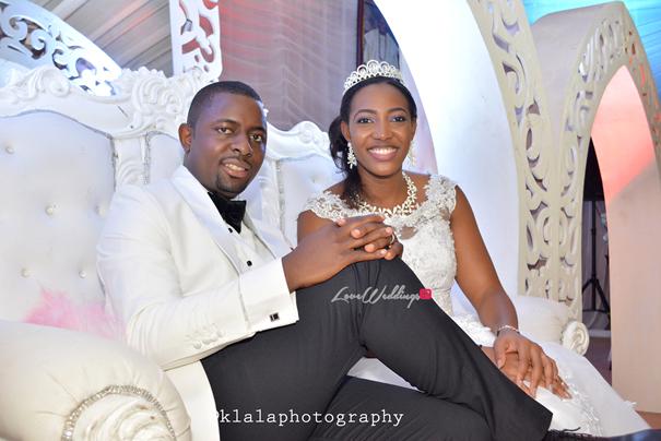 Nigerian White Wedding Princess Adedamola and Akinola LoveweddingsNG