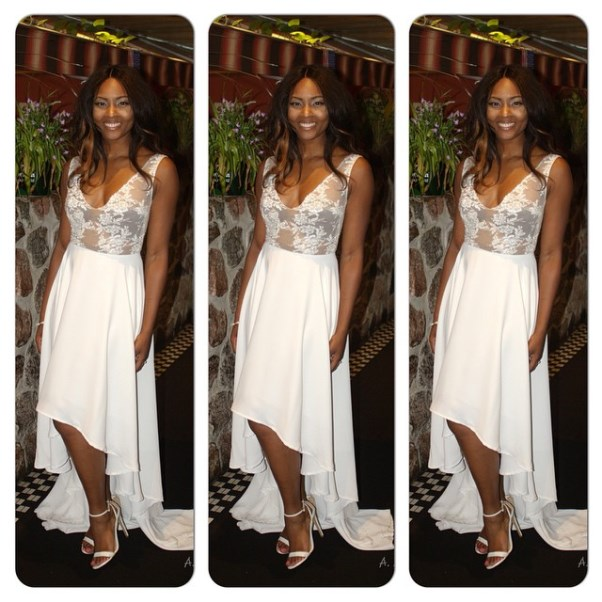Osas Ighodaro's Bridal Shower Look LoveweddingsNG