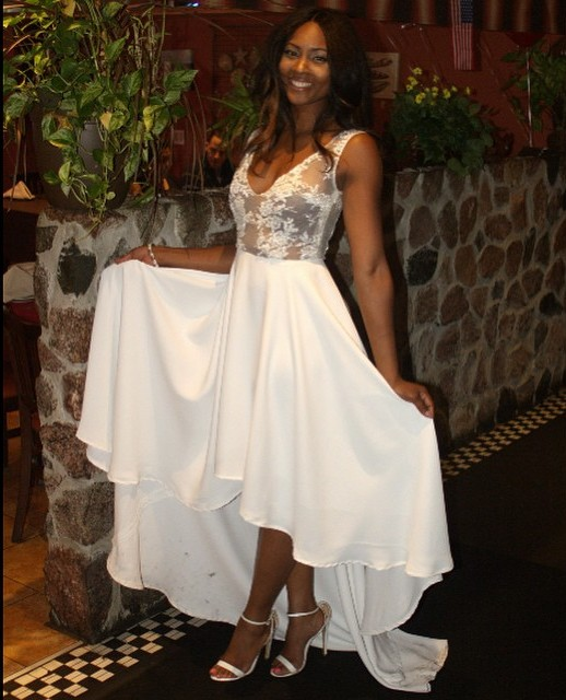 Osas Ighodaro's Bridal Shower Look LoveweddingsNG2