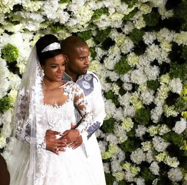 Osi Umenyiora weds Leila Lopes LoveweddingsNG