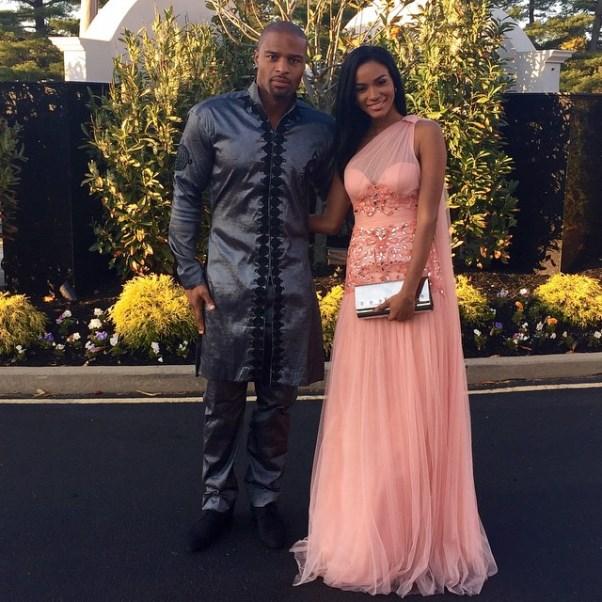 Osi Umenyiora's Sister Weds - Leila Lopes & Osi Umenyiora LoveweddingsNG