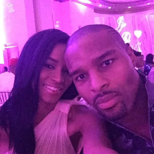 Osi Umenyiora's Sister Weds - Leila Lopes & Osi Umenyiora LoveweddingsNG3