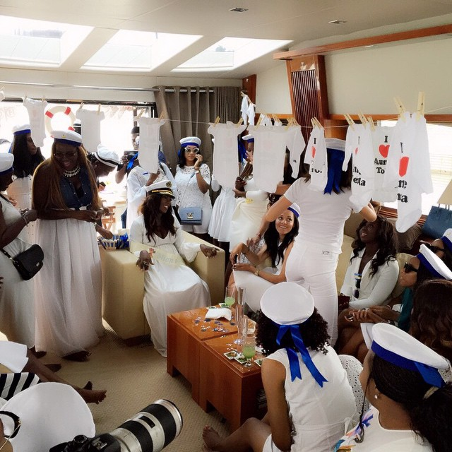 Tiwa Savage Baby Shower LoveweddingsNG43