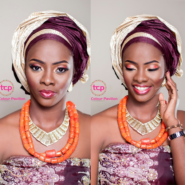 Traditional Bridal Makeup Tomis Colour Pavillion LoveweddingsNG