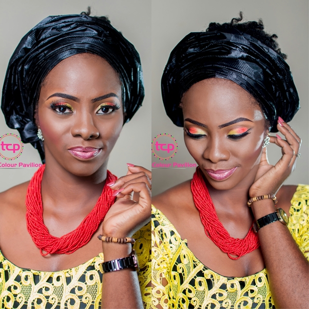 Traditional Bridal Makeup Tomis Colour Pavillion LoveweddingsNG2