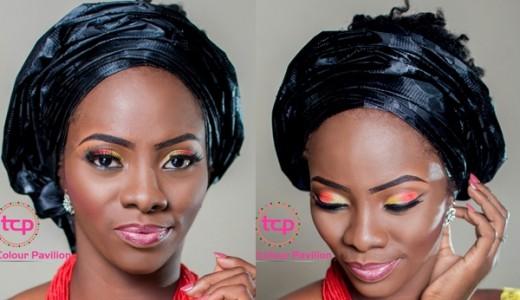 Traditional Bridal Makeup Tomis Colour Pavillion LoveweddingsNG2