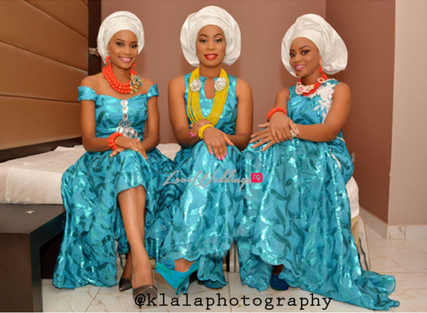 Asoebi Inspiration Klala Photography LoveweddingsNG1