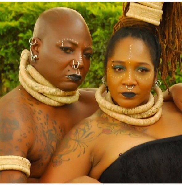Charly Boy Lady D LoveweddingsNG2