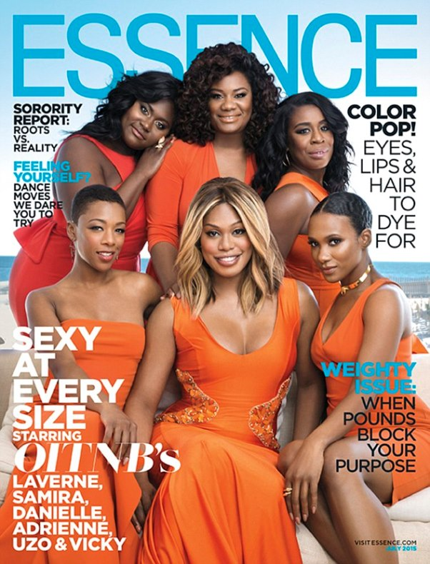 Essence Magazine - July 2015 Orange is the New Black LoveweddingsNG1