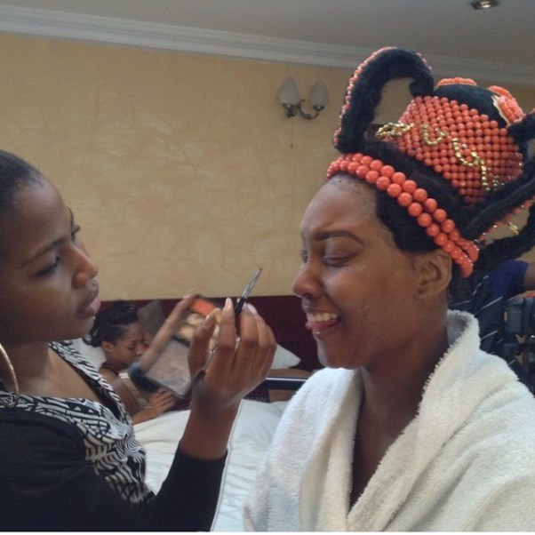 Gbenro Ajibade Osas Ighodaro Traditional Wedding LoveweddingsNG4