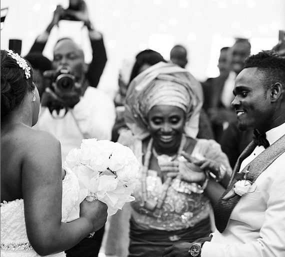 Joseph Yobo's Brother - Gideon Weds Blessing LoveweddingsNG12