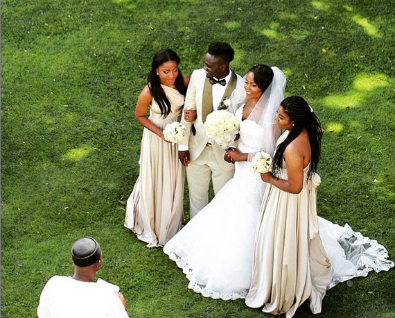 Joseph Yobo's Brother - Gideon Weds Blessing LoveweddingsNG8