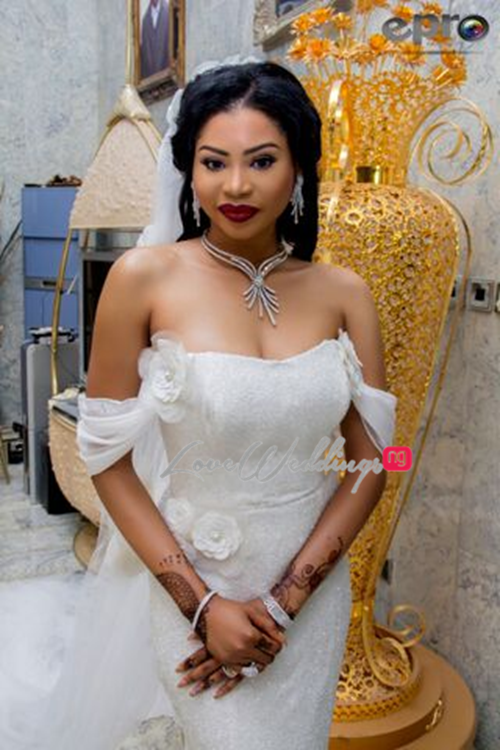 Khadijah Ahmadu Ali weds Prince Abdul Ogohi LoveweddingsNG1