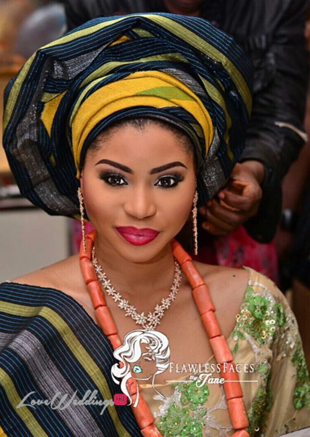 Khadijah Ahmadu Ali weds Prince Abdul Ogohi LoveweddingsNG18