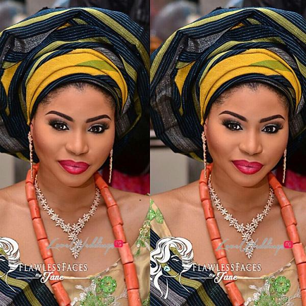 Khadijah Ahmadu Ali weds Prince Abdul Ogohi LoveweddingsNG21
