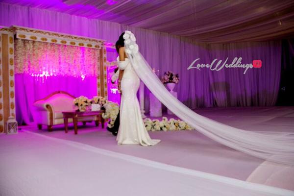 Khadijah Ahmadu Ali weds Prince Abdul Ogohi LoveweddingsNG6