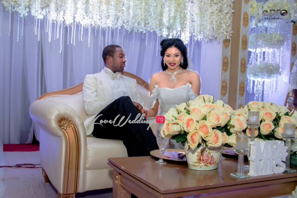Khadijah Ahmadu Ali weds Prince Abdul Ogohi LoveweddingsNG8