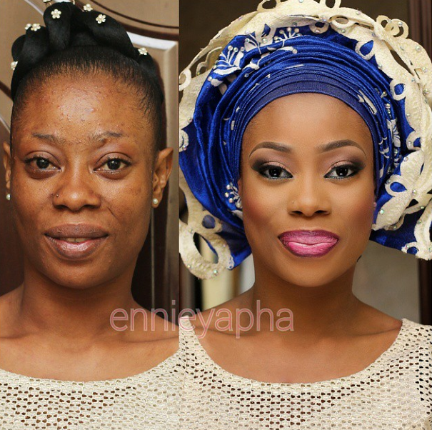 LoveweddingsNG Before and After Ennieyapha