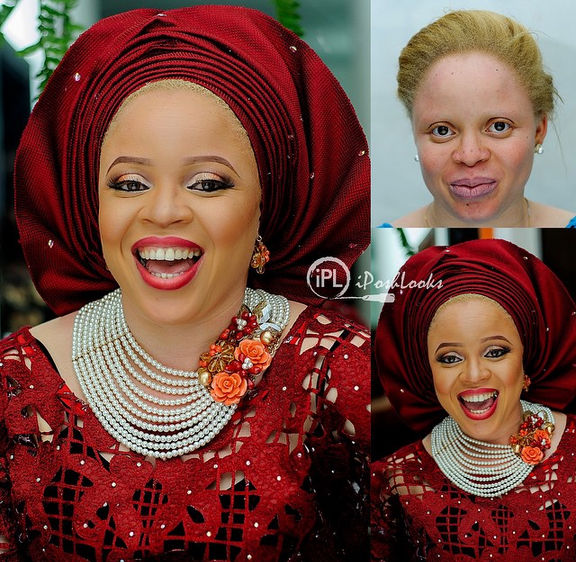 LoveweddingsNG Before and After IPosh Looks1