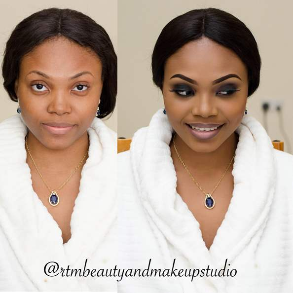 LoveweddingsNG Before and After Makeovers RTM Beauty and Makeup Studio1