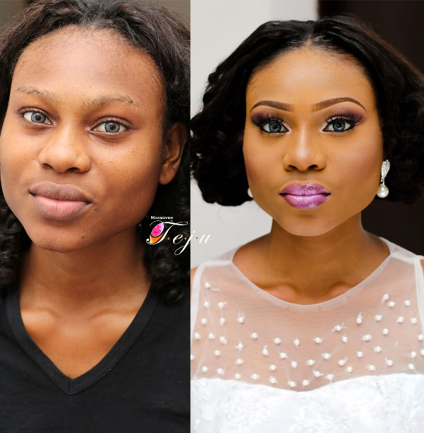 LoveweddingsNG Before and Makeovers by Teju