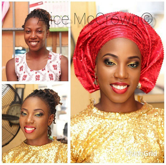 LoveweddingsNG Before meets After Makeovers - Alice McCrown
