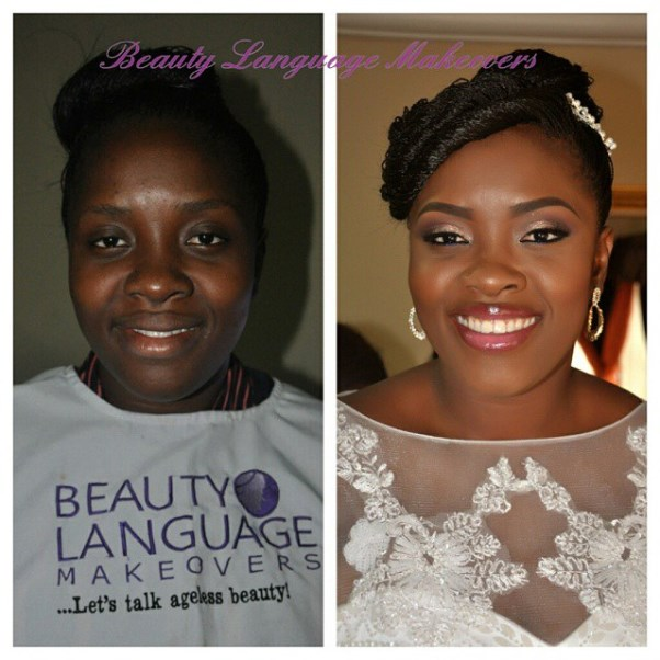 LoveweddingsNG Before meets After Makeovers - Beauty Language Makeovers