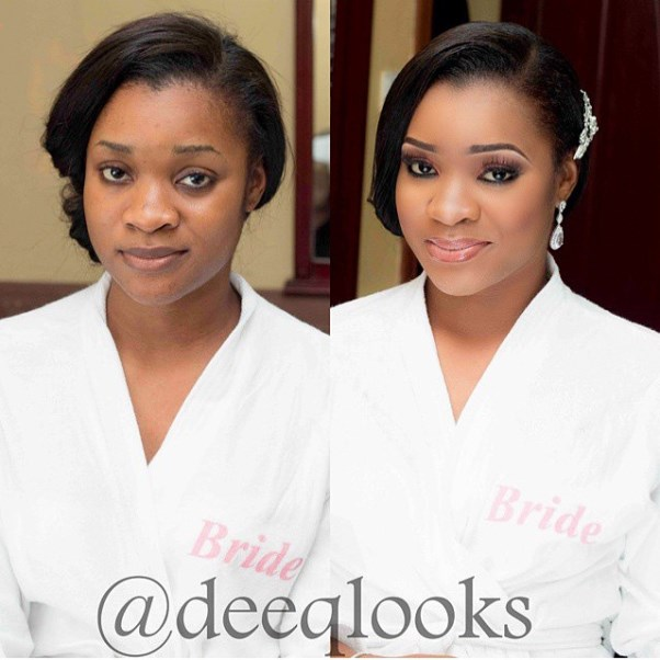 LoveweddingsNG Before meets After Makeovers - DeeQ Looks