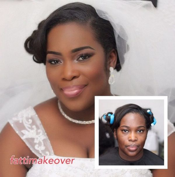LoveweddingsNG Before meets After Makeovers - Fatti Makeover