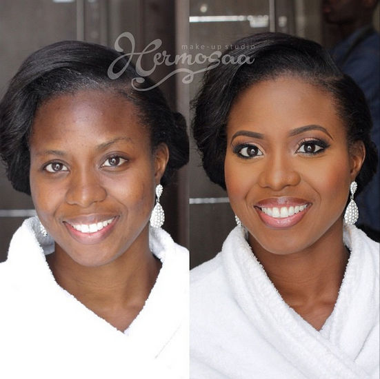 LoveweddingsNG Before meets After Makeovers - Hermosaa NG
