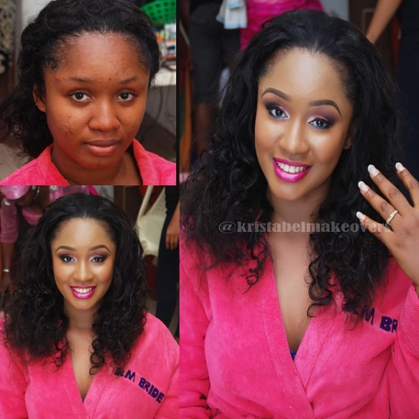 LoveweddingsNG Before meets After Makeovers - Kristabel Makeovers