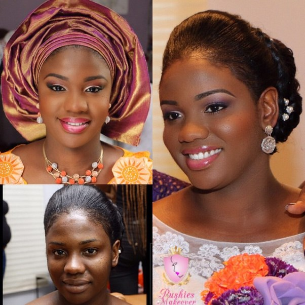 LoveweddingsNG Before meets After Makeovers - Pushies Makeovers