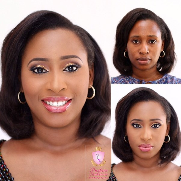 LoveweddingsNG Before meets After Makeovers - Pushies Makeovers1