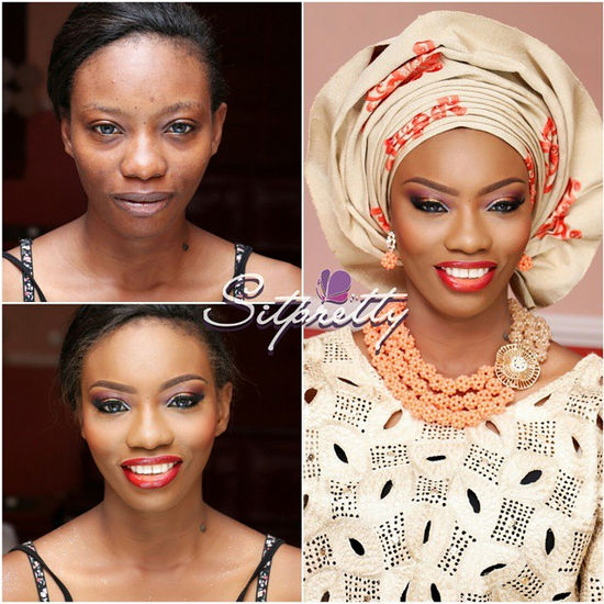 LoveweddingsNG Before meets After Makeovers - Sit Pretty Makeup Maverick