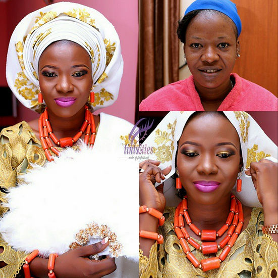LoveweddingsNG Before meets After Makeovers - Tints Makeup Pro1