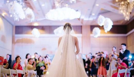 LoveweddingsNG Bride Walking Down The Aisle