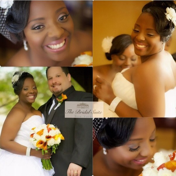 Nigerian Bridal Hair Inspiration LoveweddingsNG - The Bridal Suite NY