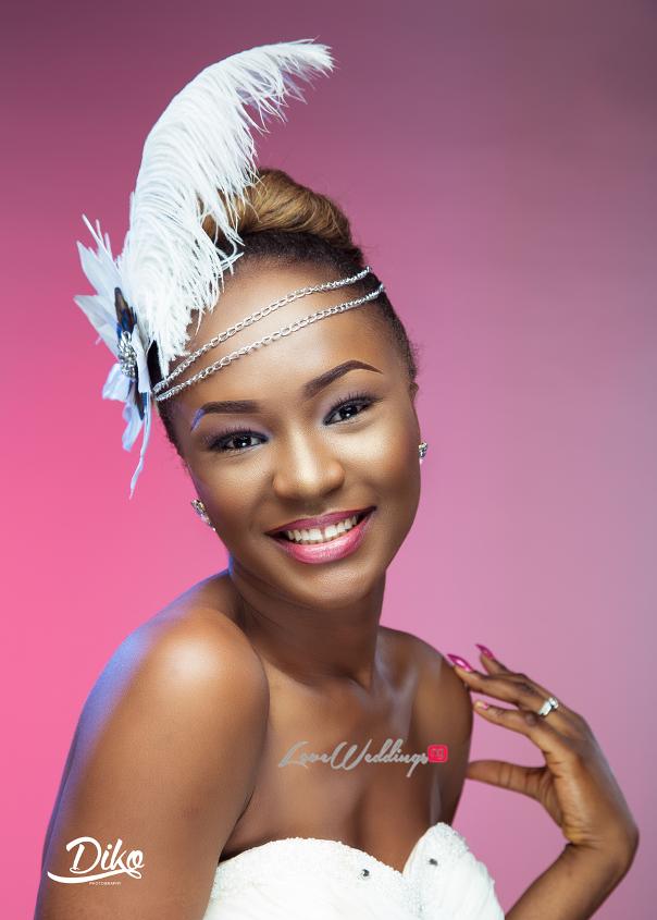 Nigerian Bridal Inspiration LoveweddingsNG Diko Photography2