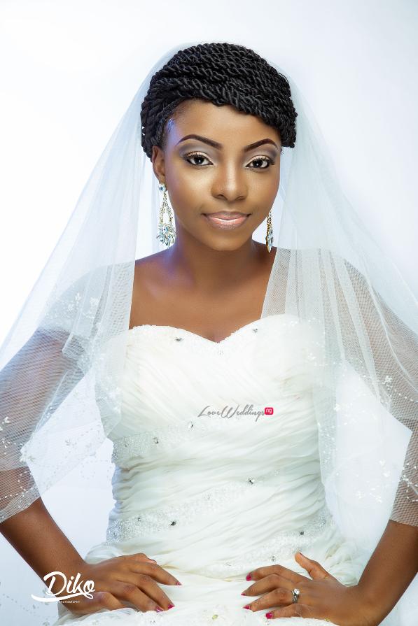 Nigerian Bridal Inspiration LoveweddingsNG Diko Photography3